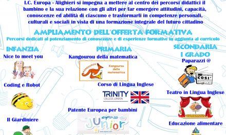 istituto 16° CIRCOLO Europa-Basile: ISCRIZIONI A.S. 2021-22